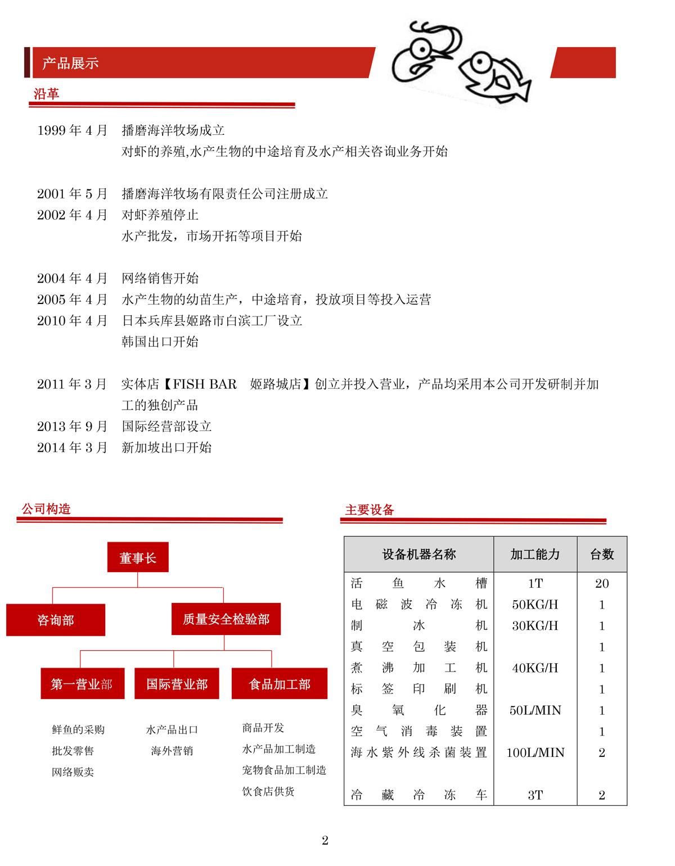 会社案内-中国語